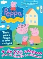 Peppa - livro de adesivos